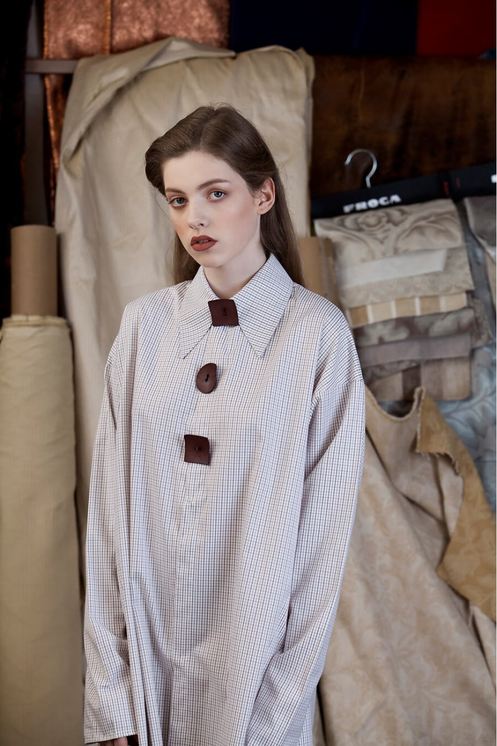 Shirt With Wood Buttons